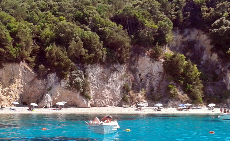 The beautiful Pisina beach in Sivota Greece