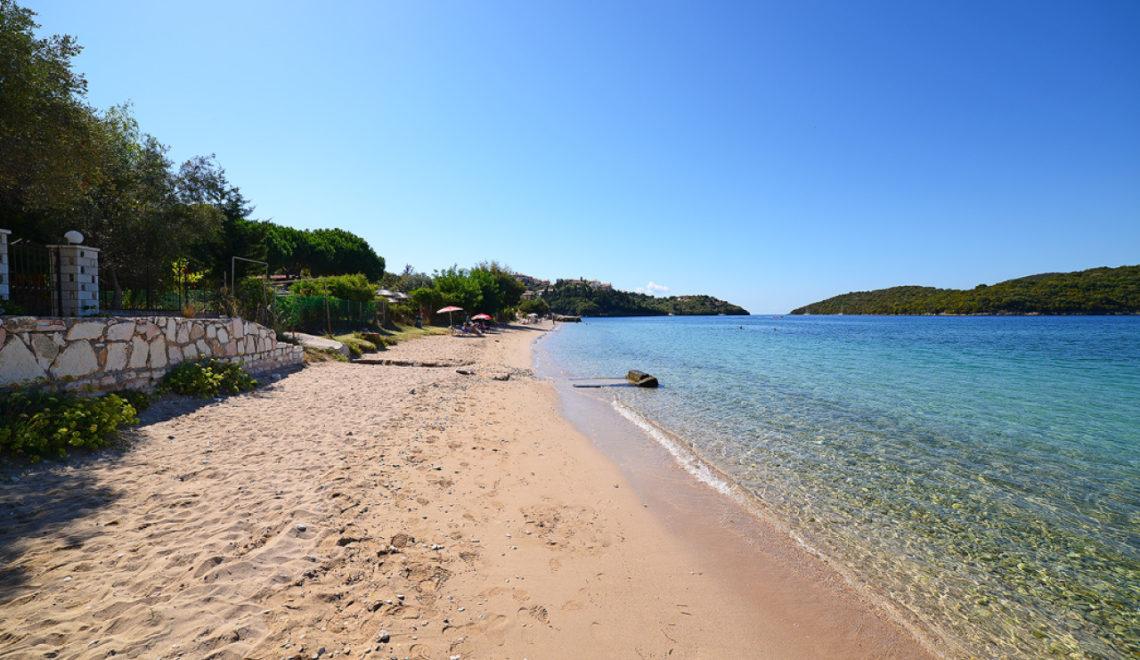 Παραλία Γαλλικός Μώλος στα Σύβοτα