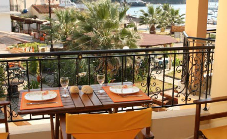 Το διαμέρισμα Lemon του Casa Evanti στα Σύβοτα